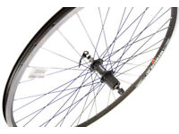 700c Road bike rear wheel with quick release