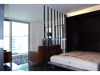** AMAZING STUDIO SUITE IN LUXURY PAN PENINSULA, CANARY WHARF, E14, CALL NOW!! - AW
