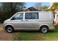 '2005' VW TRANSPORTER T30 104 TDI - 6 Seater + Fitted Dog Cages & Vent -Great Condit -2 lady owners
