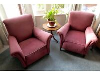 Two armchairs free to collect - Bristol