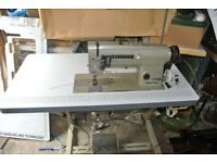 Brother Double Needle Heavy Duty Sewing machine***Leather, Canvas,Marquees Bouncy castle, Horse rugs