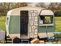 Vintage 1965 Sprite Caravan: fully renovated, solar panels, beautiful.