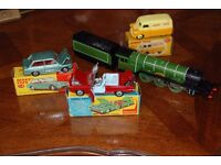 Old Toys wanted, Corgi,Dinky and Hornby