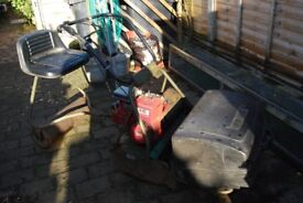 ride on cylinder lawnmower