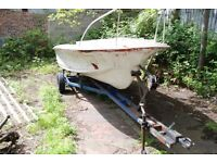 Fishing boat/Day boat. With braked trailer.