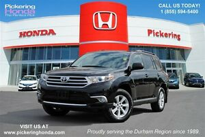 2013 Toyota Highlander V6 | REAR CAMERA | BLUETOOTH | POWER WIND