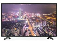 Bush 40 Inch Freeview HD TV + with box