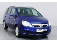 2007 VAUXHALL ZAFIRA 1.6IENERGY 5DR Petrol/+7 SEATER/HPI CLEAR/BARGAIN+BARGAIN