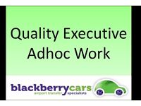 Experienced Executive PCO Drivers for Quality Adhoc Exec Work ** Executive Saloons and Vianos **