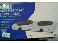 Hot plates #30617 £12