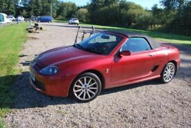 Stunning MG TF 135 in Night Fire Red ** REDUCED**
