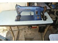 Walking Foot Singer 331K5 Industrial Sewing Machine FOR LEATHER, BOUNCY CASTLES