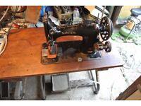 SINGER 132K10 HEAVY DUTY Industrial Machine(2 WEBBING & 2 VEG TAN SAMPLE SEWN)