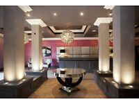 Hotel receptionist needed for 4 star boutique hotel in Nottingham City centre - St James Hotel