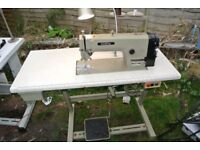 Brother INDUSTRIAL Lockstitch Flatbed Sewing machine for Alteration shops, Home use, factory,