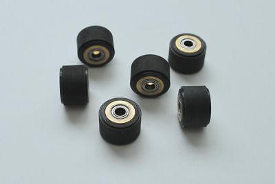 6pcs 5x10x18mm Cutting Plotter Vinyl Cutter Printer Banner Pinch Roller Wheel