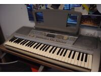 Yamaha PSR 290 Keyboard (with free stand and carrier bag)