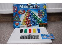 TWO MAGNETIC BUILDING SETS