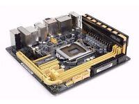 Intel i7-4770k / Asus Z87i-Pro / Corsair 16GB 2400Mhz Mini ITX gaming bundle