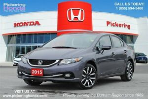 2015 Honda Civic Touring | LEATHER | NAVI | SUNROOF