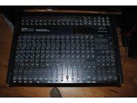 SOUND MIXER Inkel Stagemaster Professional MX-1810 slim type 18 channel stereo audio mix