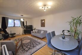 Spacious two bedroom flat , large reception room