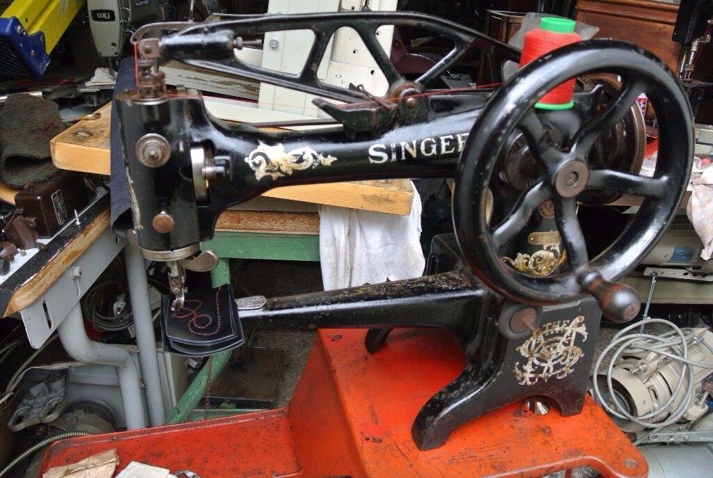 Singer 29K4 Cylinder Arm Boot Patcher/Cobbler Industrial Sewing Machine
