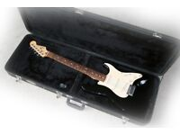 Fender Standard Stratocaster 2002 MIM in black and very good condition...