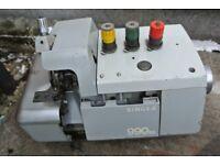 SINGER OVERLOCKER Industrial sewing machine Model 990