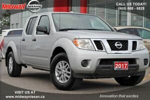2017 Nissan Frontier SV 4X4, Bluetooth, Backup camera, Alloys