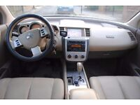 LHD LEFT HAND DRIVE NISSAN MURANO 2006 4x4 AUTOMATIC LEATHER SEATS FULLY LOADED
