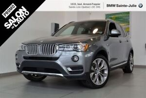 2016 BMW X3 xDrive28i, Navigation, Toit Panoramique