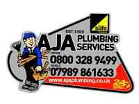 PLUMBER & GAS SAFE REGISTER ENGINEER ALL PLUMBING, BOILERS, REPAIRS & POWERFLUSHING aja plumbing