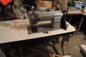 Singer-211G165-COMPOUND-NEEDLE-FEED-WALKING-FOOT-Industrial-Machine-for-LEATHER