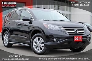 2014 Honda CR-V EX-L LEATHER SUNROOF REAR CAMERA