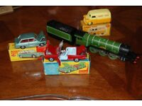 Wanted,Corgi,Dinky and Hornby toys