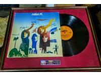 ABBA rare signed album.