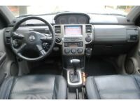 LHD LEFT HAND DRIVE NISSAN X-TRAIL 2005 4x4 ELEGANCE PANORAMA DVD, SAT-NAV ,AC,LEATHER ,FULLY LOADED