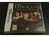 Merlin - A Servant of Two Masters Nintendo DS