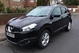 Nissan Qashqai 1.5 DCi N tec. Sat nav, panoramic roof, roof rails, Bluetooth, 4 new tyres