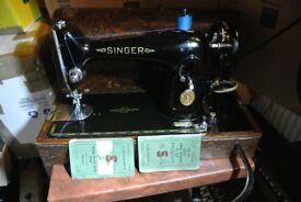 Singer Electric Knee Control Semi-Industrial Sewing Machine