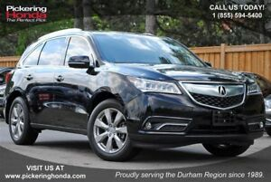 2016 Acura MDX Elite Package NAVI LEATHER SUNROOF
