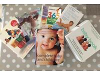 Bundle of baby books