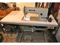 Brother Flatbed INDUSTRIAL Sewing machine Model MARK III