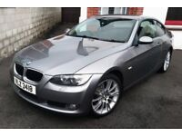 2008 BMW 320D COUPE 6 SPEED LEATHER MAY PX