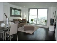 1 bed apartment available in Heart of Canary wharf E14, South quay, Isle of dogs-TG