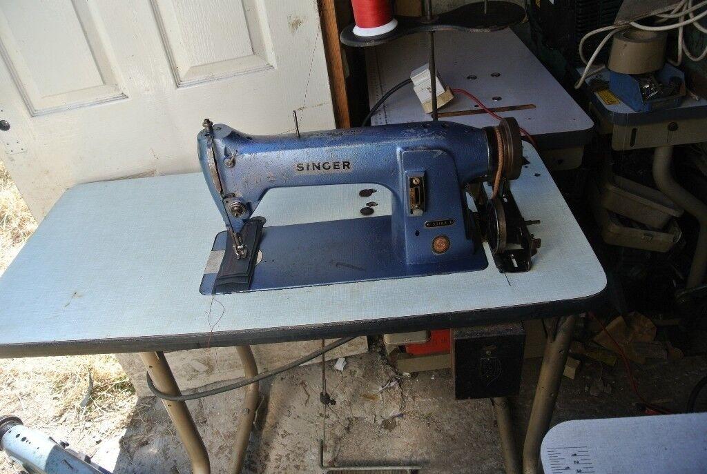 Walking Foot Singer 40K40 Industrial Sewing Machine FOR LEATHER Adorable Singer Walking Foot Industrial Sewing Machine