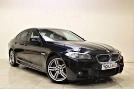 BMW 5 SERIES 2.0 520D M SPORT 4d AUTO 181 BHP (black) 2012