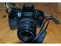 Canon EOS750 film camera with 35-70mm zoom lens