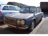 1968 Lancia Flavia Berlina Saloon 1800cc LEFT HAND DRIVE Italian Import